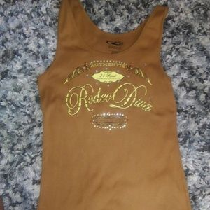 ❤2 for $10❤ Bling western tank top
